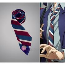 Zetsuen no Tempest Blast of Tempest Takigawa Yoshino Fuwa Mahiro Three -color Striped Cosplay Tie