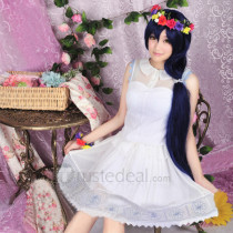 Love Live Sonoda Umi August New Card Cosplay Costume