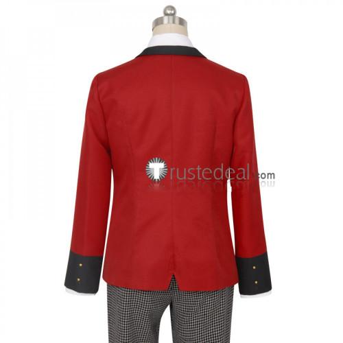 Kakegurui Gambler Ryota Suzui Boys Uniform Cosplay Costume
