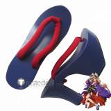 Macross Frontier Final Stage Oiran Sheryl Nome Kimono Cosplay Geta Shoes