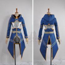Sword Art Online Silica ALO Blue Cosplay Costume