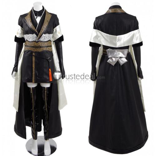 Final Fantasy XV FF15 Shiva Gentiana Black Cosplay Costume