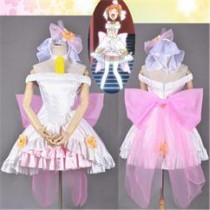 Love Live Rin Hoshizora Wedding Cosplay Costume
