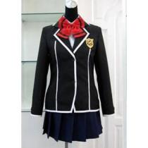 Guilty Crown Kuhouin Arisa School Uniform Cosplay Costume