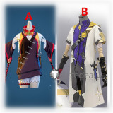 Genshin Impact Albedo Xinyan Cosplay Costumes