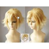 Diabolik Lovers Mukami Kou Short Blonde Cosplay Wig