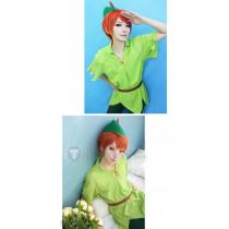 Disney Peter Pan Green Cosplay Costume1