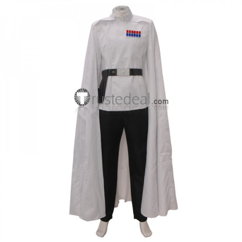 Rogue One: A Star Wars Story Director Orson Krennic White Cosplay Costume