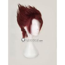 Touken Ranbu Ookanehira Red Brown Cosplay Wig