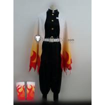 Kimetsu no Yaiba Demon Slayer Kyojuro Rengoku Demon Hunter Cosplay Costume