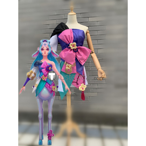 League of Legends LOL Spirit Blossom Lillia Cosplay Costume