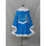 League of Legends Winter Wonder Snow Lulu Blue Cosplay Costume2
