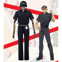 Hataraku Saibou Cells at Work Killer T Cell Black Cosplay Costume