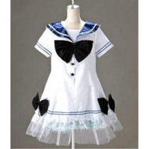 Panty & Stocking with Garterbelt Anarchy Stocking Sailor Dress Cotton Cosplay Costume