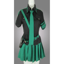 Vocaloid 2 Love Is War Miku Green Cosplay Outfit Costume 2