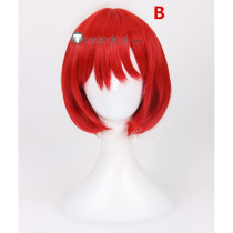 Akagami no Shirayukihime Shirayuki Red Cosplay Wigs