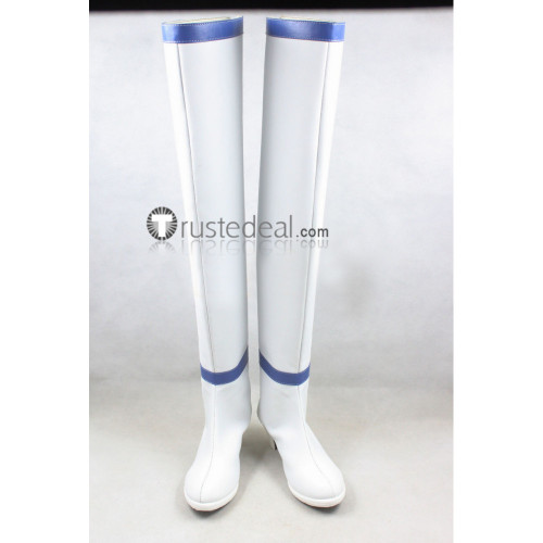 Fairy Tail Celestial Spirit Mage Yukino Agria White Cosplay Boots Shoes
