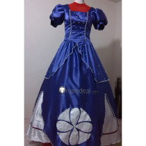 Sofia the First Disney Princess Sofia Blue Cosplay Costume