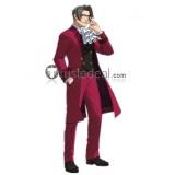 Phoenix Wright Ace Attorney Miles Edgeworth Cosplay Costume