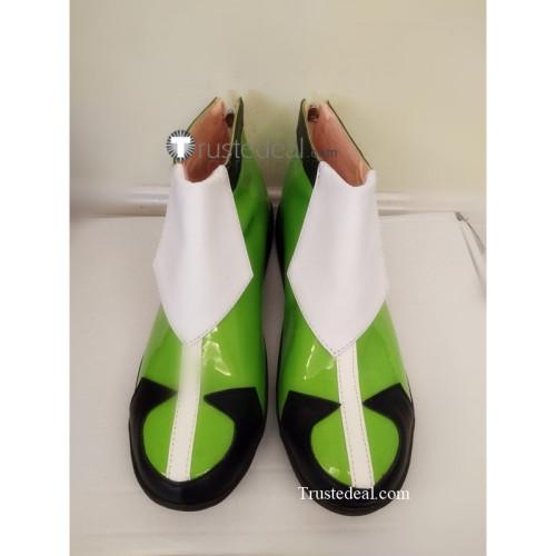 Voltron Legendary Defender Matt Holt Green Cosplay Shoes Boots