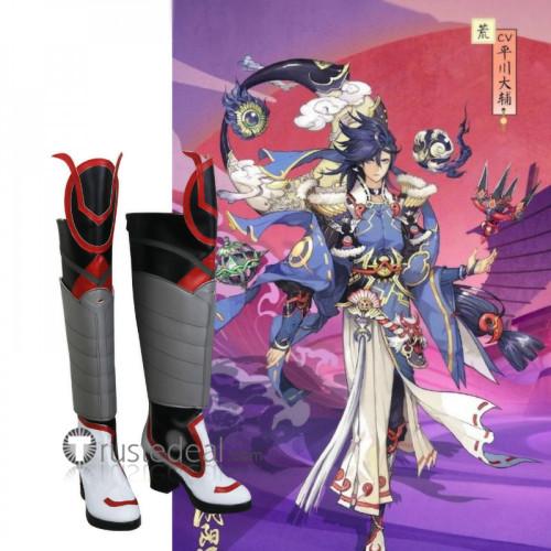 Onmyoji Susabi Grey Cosplay Shoes Boots