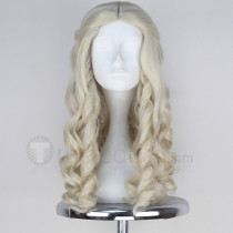 Alice Through the Looking Glass The White Queen White Cosplay Wig