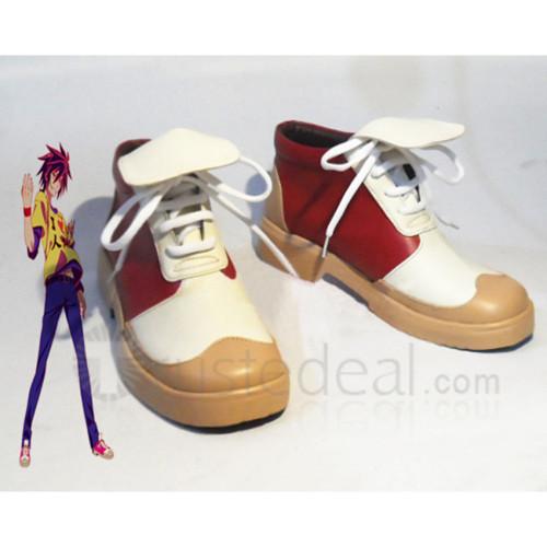 No Game No Life Sora Cosplay Shoes Boots