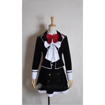 Diabolik Lovers Komori Yui Flannelette Velvet Cosplay Costume