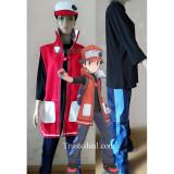 Pokemon Masters Red Cosplay Coat Costume 2019 Game