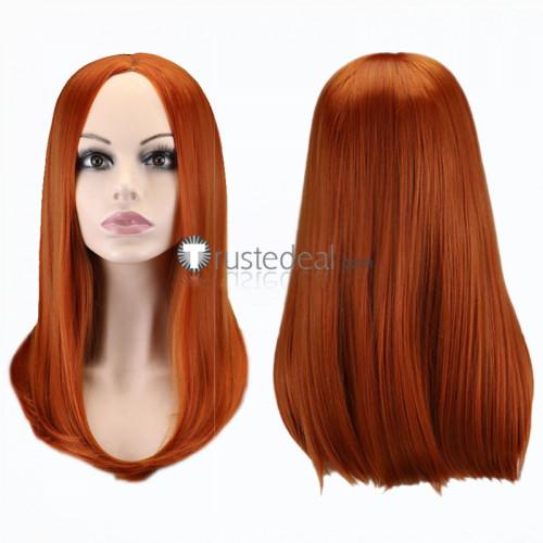 Darling in the Franxx Nana Orange Cosplay Wig