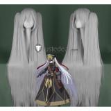 Re Creators Altair Military Uniform Princess Silver Grey Cosplay Wig