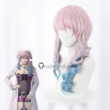 Akudama Drive The Cutthroat Swindler Courier Doctor Hacker White Brown Purple Cosplay Wigs