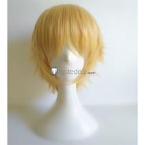 Kaishou wa Maid Sama Takumi Usui Blonde Cosplay Wig
