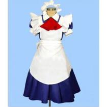 Maid Sama Satsuki Hyoudou Maid Latte Blue White Cosplay Costume
