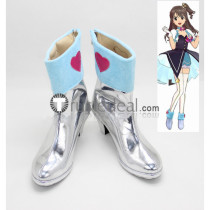 The Idolmaster Cinderella Girls Uzuki Shimamura Anzu Futaba Cosplay Boots Shoes