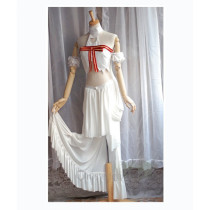 Sword Art Online Asuna Cosplay Clothes