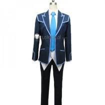 YuGiOh VRAINS Yusaku Fujiki Blue Uniform Cosplay Costume