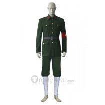 Hetalia Axis Powers Allied Forces China Green Cosplay Costume
