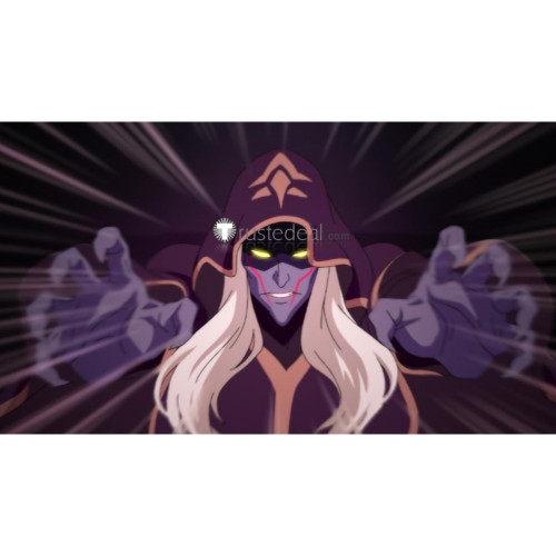 Voltron Legendary Defender Witch Haggar Purple Cosplay Costume