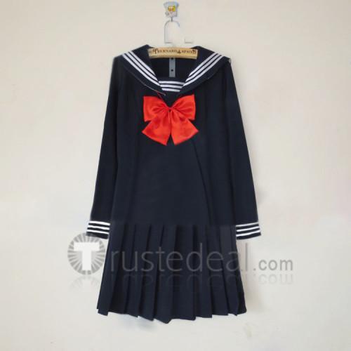 Toradora Taiga Aisaka Black Blue Seifuku Sailor Dress Cosplay Costume