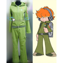 Panty Stocking with Garterbelt Brief Beirfers Rock Green Cosplay Costume