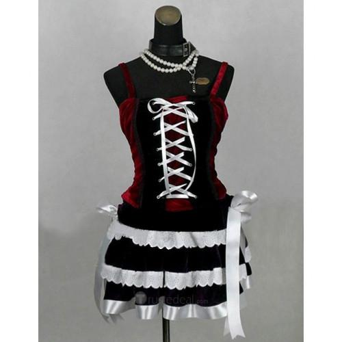 Rosario and Vampire Akashiya Moka Cosplay Costume