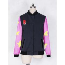 Free! Iwatobi Swim Club Ryugazaki Rei Baseball Jacket Cosplay Costume