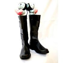 No.6 Nezumi Black Cosplay Shoes Boots