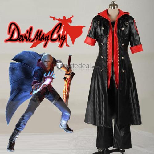 Devil May Cry 4 Nero Black Cosplay Costume