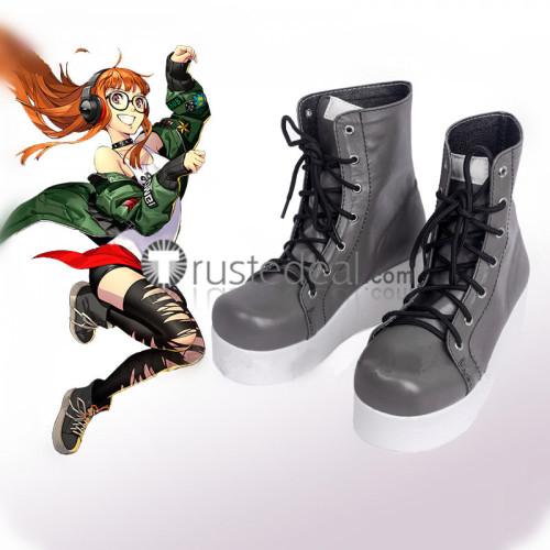 Persona 5 Dancing in Starlight Futaba Sakura Takamaki Ann Cosplay Shoes Boots