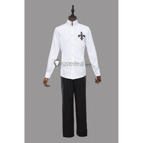 Persona 5 Yusuke Kitagawa Fox White Black Cosplay Costume