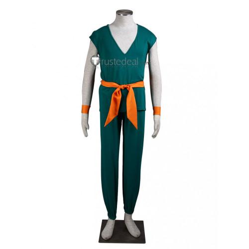 Dragon Ball Trunks Green Cosplay Costume