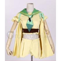 Pokemon Gijinka Leafeon Green Cosplay Costume