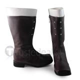 Gothic Velvet Girls Boots
